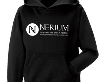 Nerium Brand Partner Personalized Hooded Sweatshirt EGu97uq
