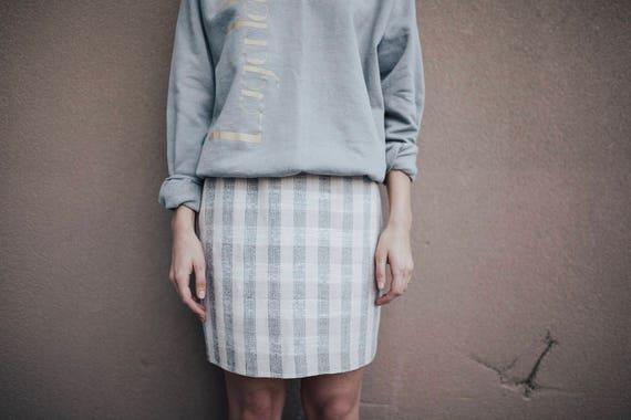perfect plaid mini skirt