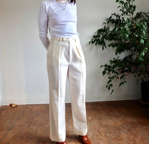 so over it x kindred thrift - YSL trousers
