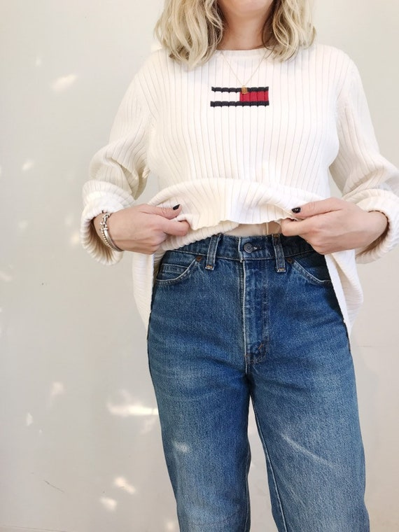 Tommy Hilfiger ribbed knit sweater