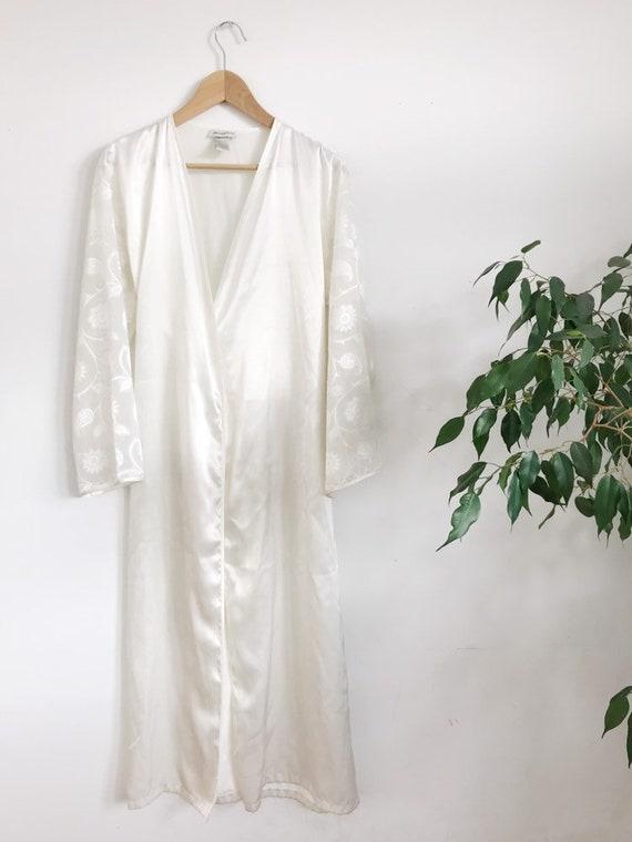 sateen robe / kimono