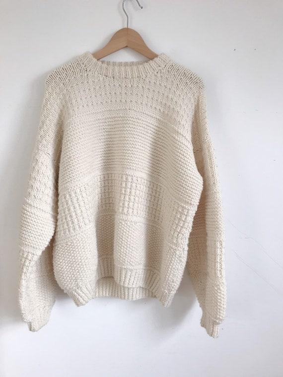 vintage fishermans sweater