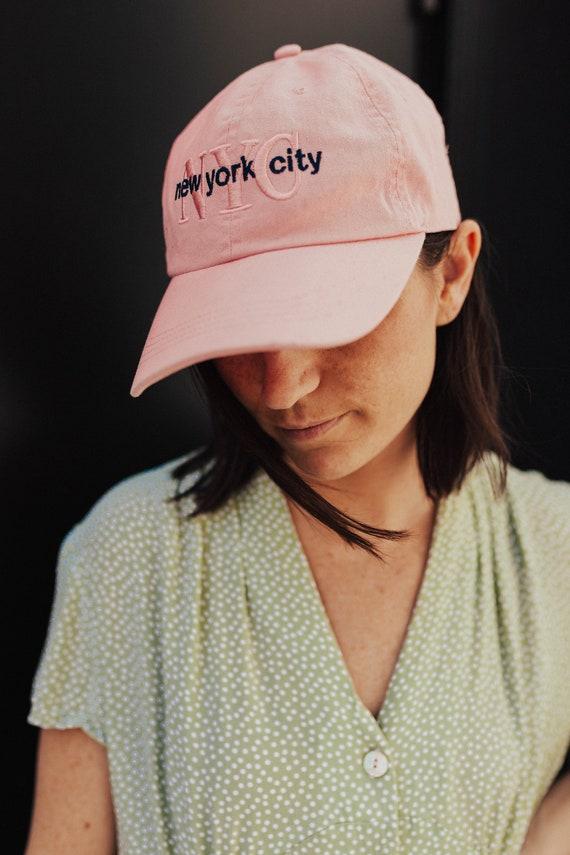 new york city tourist dad hat