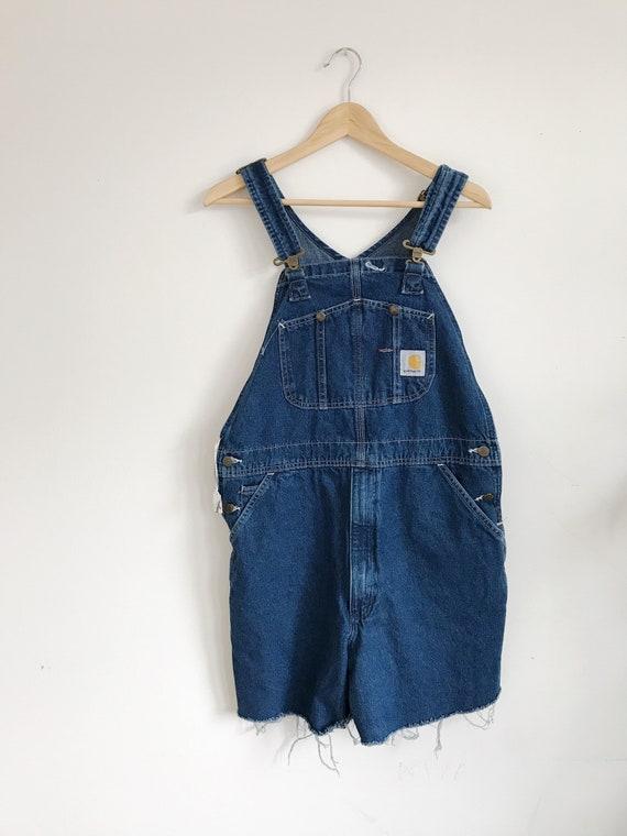 carhartt short overalls / shortalls