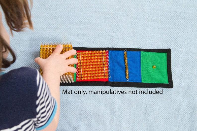 Montessori Golden Bead Mat Montessori Math Introduction To image 0
