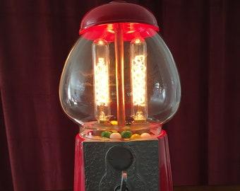 Illuminated Gum Ball Machine with Dimmer