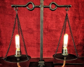 Dr. White's Illuminated Scales of Justice II