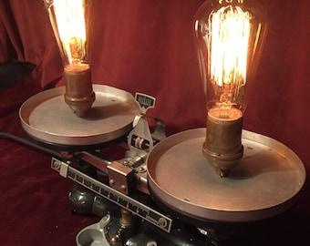 Illuminated Scientific Scales