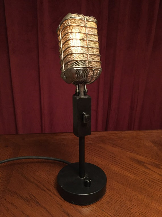 Illuminated Microphone with dimmer