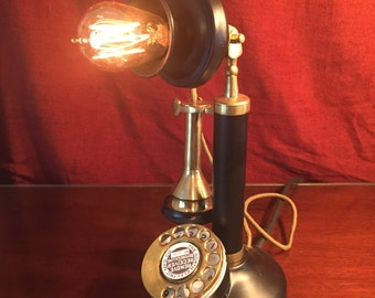 Illuminated Telephone (black)