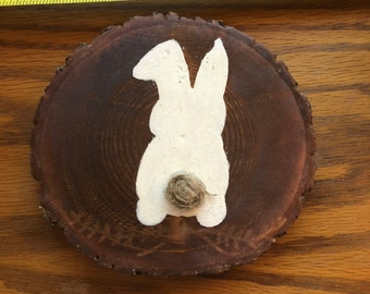 Bunny Wooden Decor