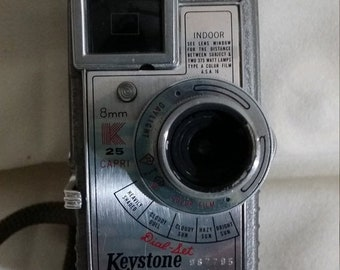 Keystone 8mm camera | Etsy