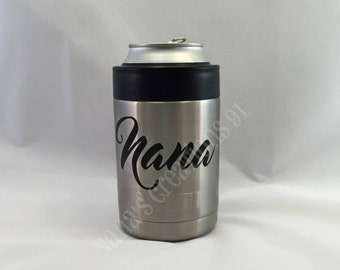 Name Decal-Vinyl Name Decal-Yeti Decal-Monogram Decal-Vinyl Decal-Nana Decal-Yeti Decal-Custom Name Decal-Personalized Tumbler Decal