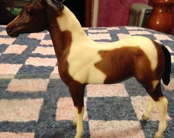 Breyer Model Horse Paint Horse Foal Liver Chestnut Overo Etsy