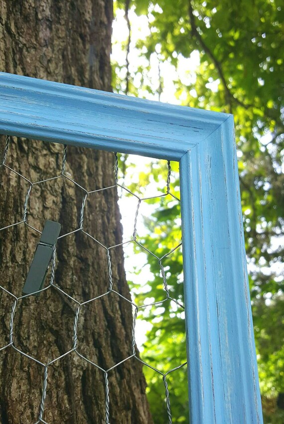 Farmhouse Baby Decor Chicken wire frame Nursery decor | Etsy
