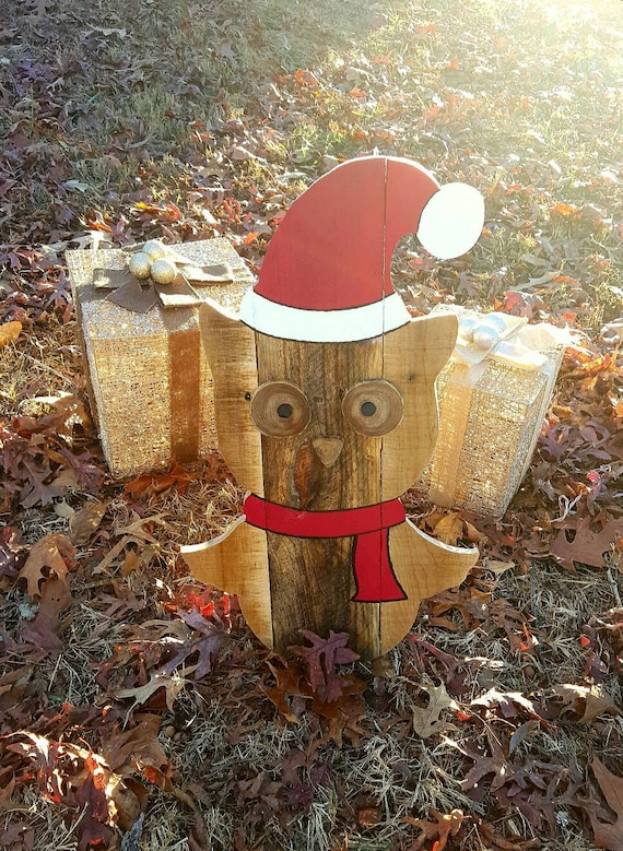 image 0 - Outdoor Owl Christmas Decorations