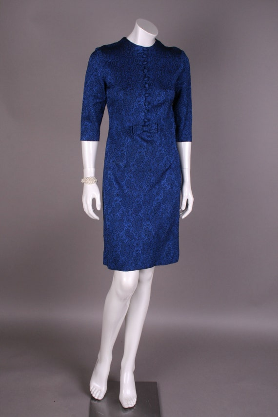60s cocktail dress, Gr. 36