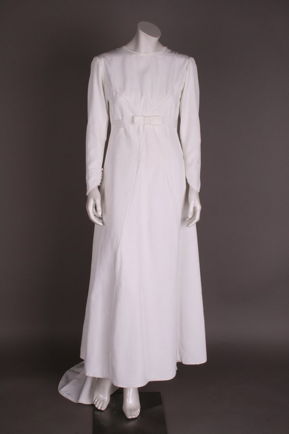 60s wedding dress, Gr.36