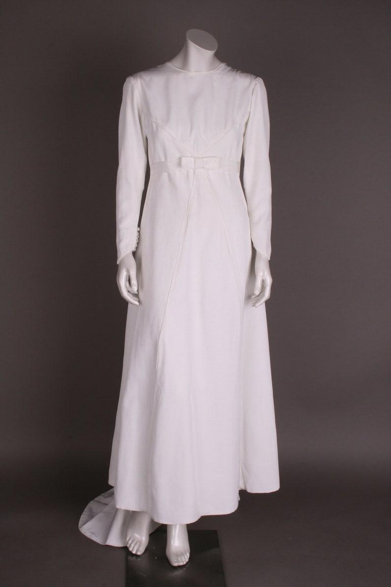 60ies Wedding Dress.60s Wedding Dress Gr 36
