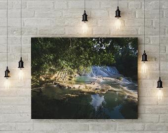 Waterfall Roberto Barrios - Mexico. Fine art photography.