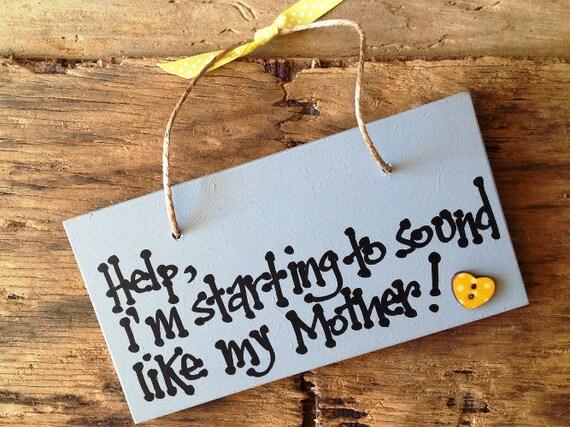 Cumpleaños mamá regalo madres son como regalo de día de las madres de botones placa signo presente