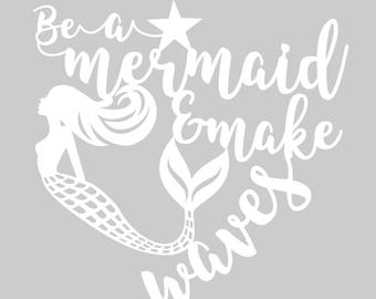 image about Mermaid Stencil Printable referred to as Mermaid papercut Etsy