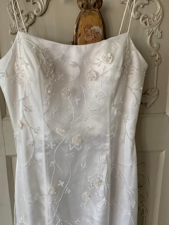 Beautiful vintage evening dress, wedding dress fro