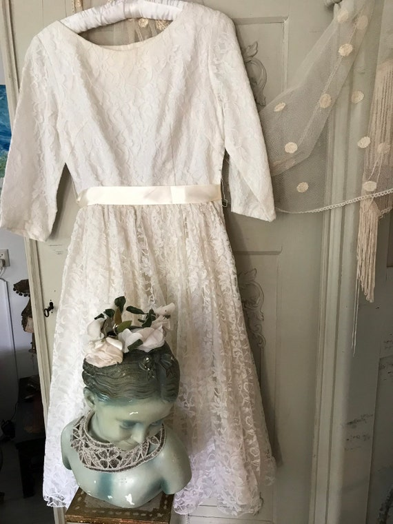 Little bridesmaid dress from the sixties, France