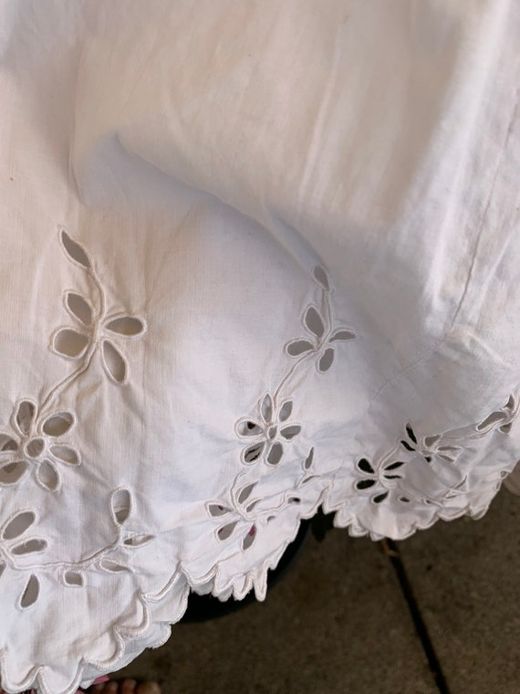 French old underdress , with beautiful lace, perf… - image 7