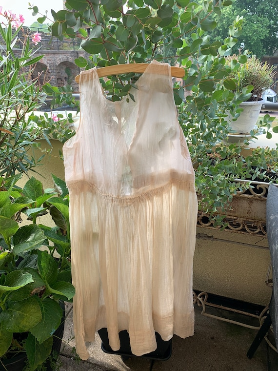 Old dress, perhaps used as an underdress , France,