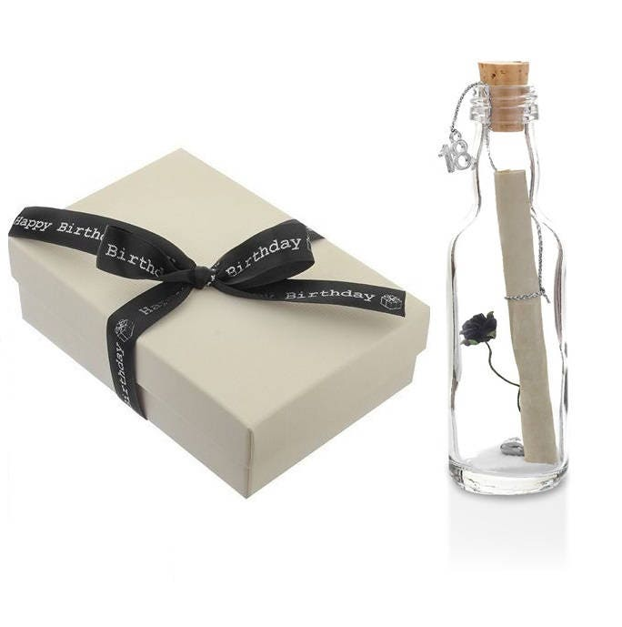 18th Birthday Gifts For Him Her Message In A Bottle Gift