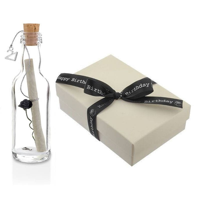 21st Birthday Gifts Message In A Bottle Gift With Box