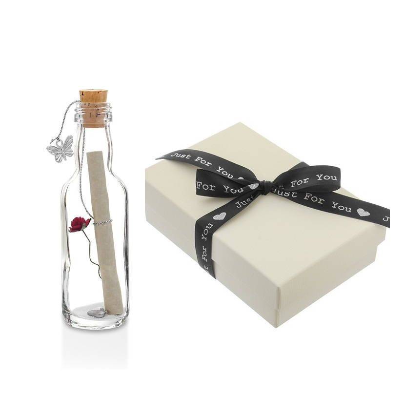 1st To 50th Wedding Anniversary Gifts Message In A Bottle With