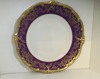 Weimar Parzellan Katharina Plate- Rare Made in Germany 28010 63
