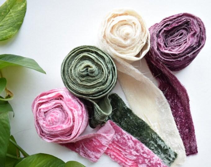 velvet ribbon 4 pack - april - free US shipping