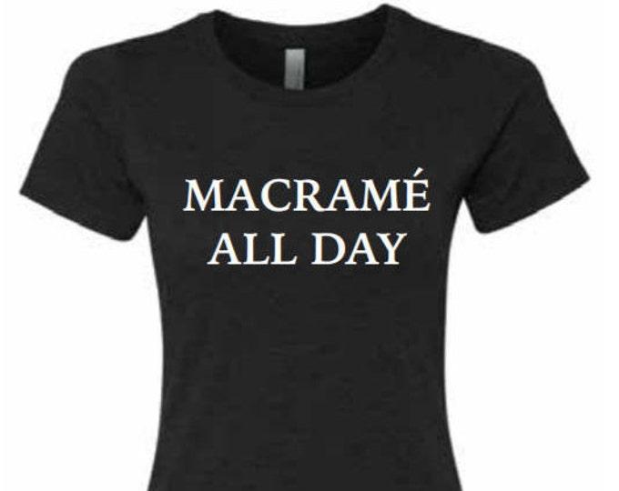 macrame all day t-shirt
