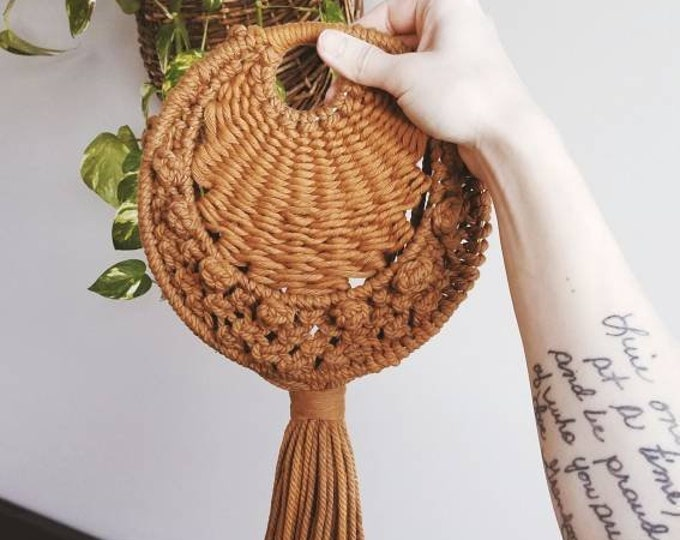 spice macrame wall hanging