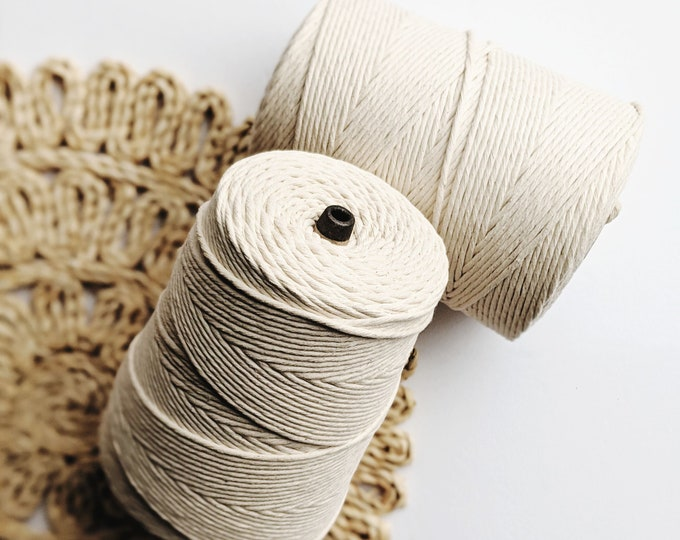 PRE-ORDER BULK 3mm cotton string