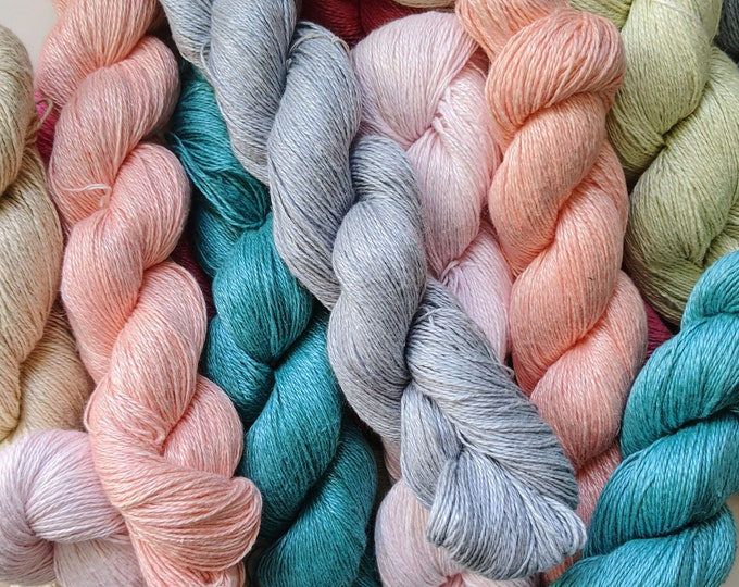 linen sport weight yarn