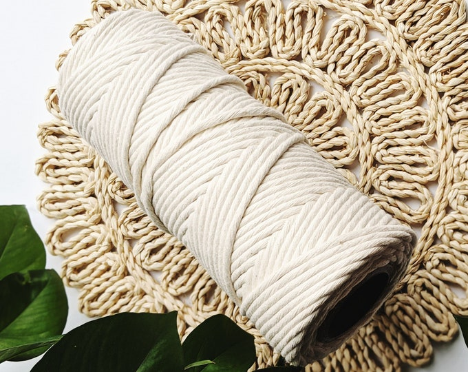 7mm cotton string - free US shipping