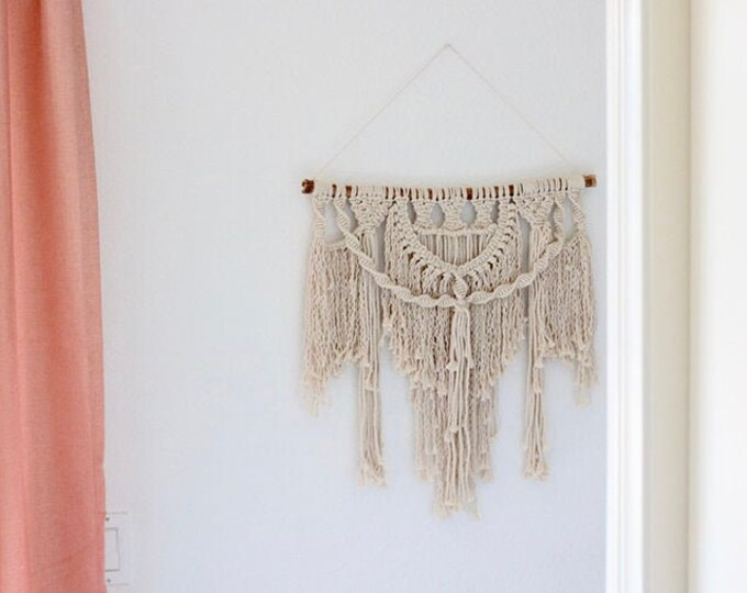 Macrame Wall Hanging Workshop at Two Wild Seeds