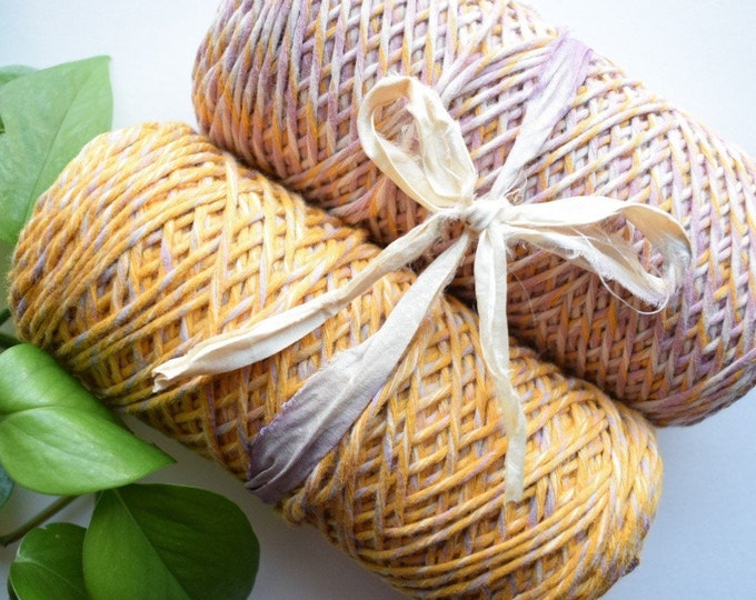 1.5/2mm spring duo mini recycled cotton string