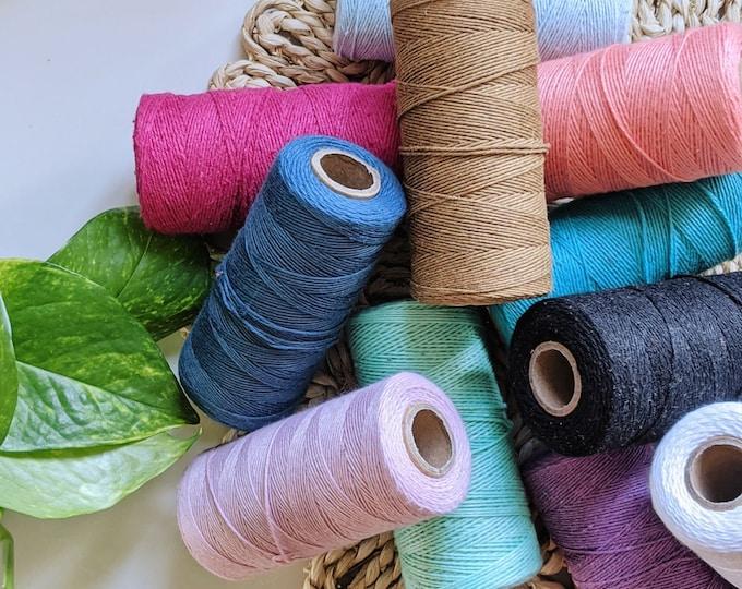 cotton warp thread