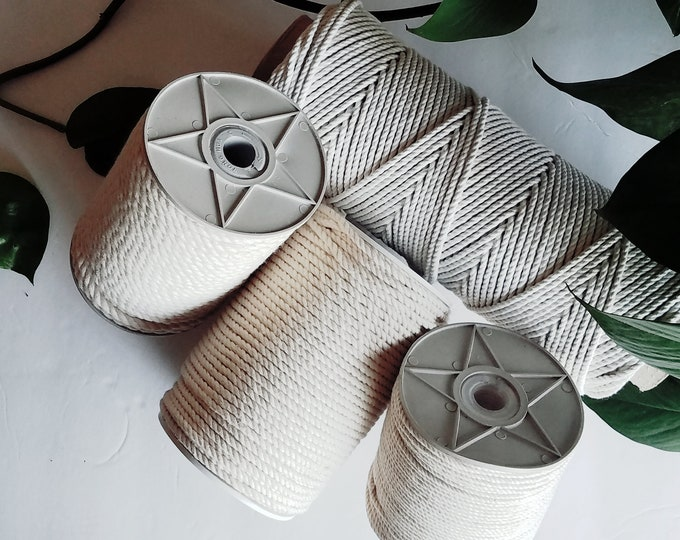 3ply Cotton Macrame Rope