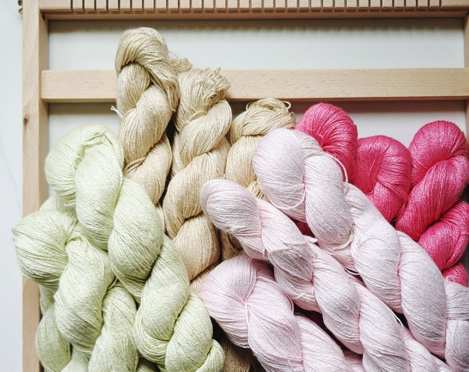 linen sport weight yarn - free US shipping