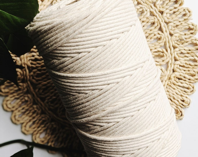 jumbo 7mm cotton string - free US shipping