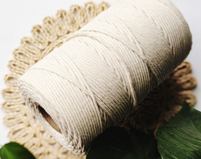 jumbo 5mm cotton string - free US shipping