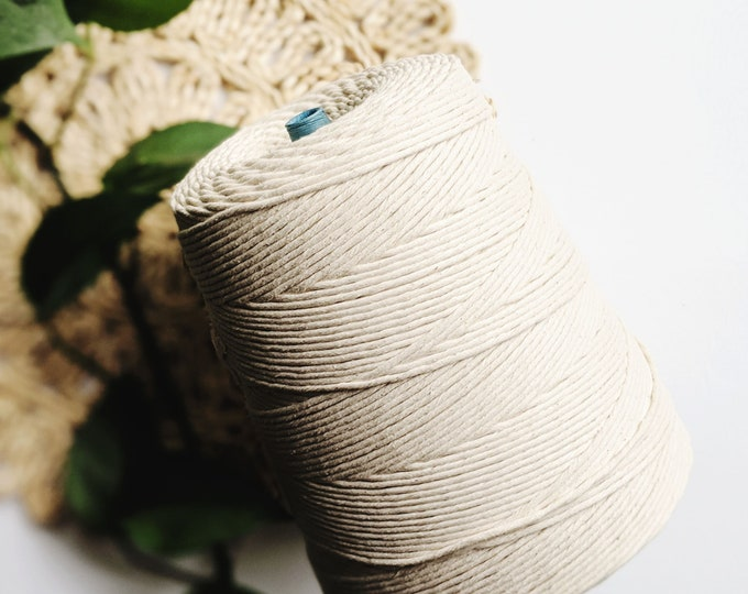 jumbo 3mm cotton string - free US shipping