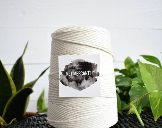 3mm cotton string