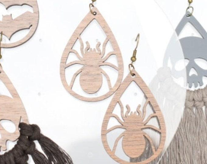 halloween earring findings